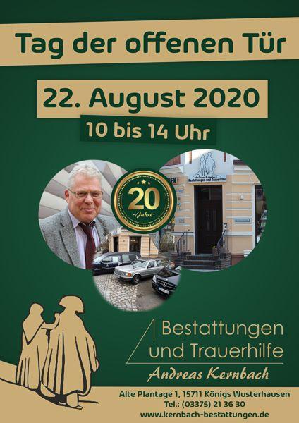 Tag der offenen Tür - Königs Wusterhausen<br />10.00 - 14.00 Uhr, 22. August 2020