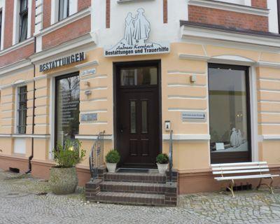 Foto des Geschäftseingangs Bestattungen und Trauerhilfe Königs Wusterhausen